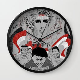 Corruption and Nepotism! Wall Clock