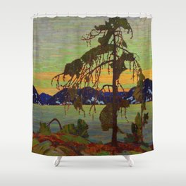 Tom Thomson The Jack Pine 1916-1917 Canadian Landscape Artist Shower Curtain