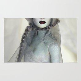 Alabaster Ghost Bride Rug