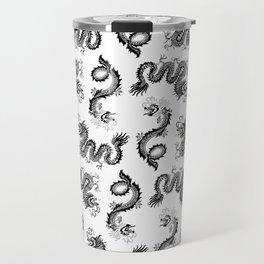 Dragon Pattern Travel Mug