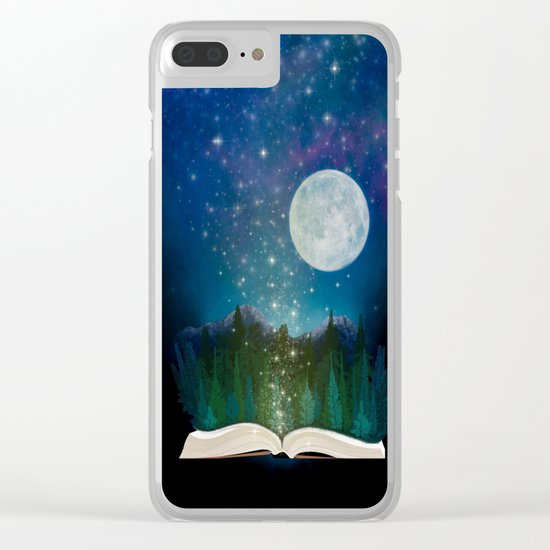 Open Your Imagination Clear iPhone Case