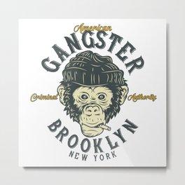 Gangster Brooklyn Metal Print