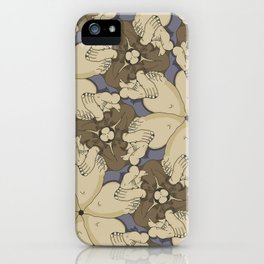 Alex Broadfoot tessellation iPhone Case