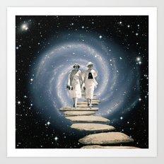 Leaving the Milky Way Art Print