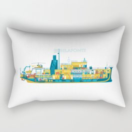 BELAFONTE - The Life Aquatic with Steve Zissou Rectangular Pillow