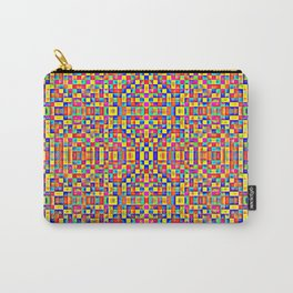 Rainbow Mosaic Pixels Carry-All Pouch