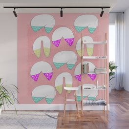 It's A Fortune Cookie Cup Cake Kind of Love Wall Mural