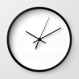 Untitled-1_Nurse Practitioner Wall Clock