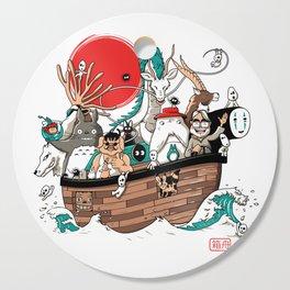 Ark's Miyazaki (version2018) Cutting Board