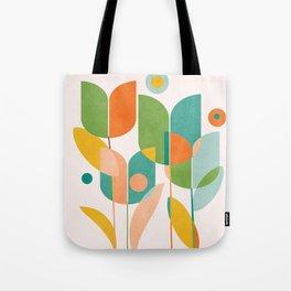 floral shapes IV Tote Bag