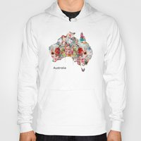 australia Hoodies featuring Australia by bri.buckley