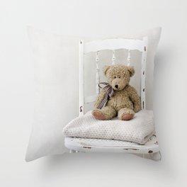Teddy Chair  Throw Pillow