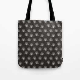 Black and White Pine Needles Tote Bag