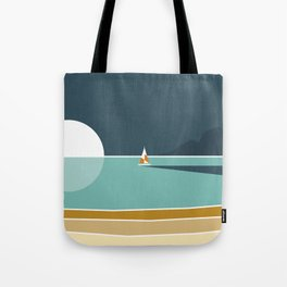 View from the beach Tote Bag