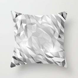 I Love Low Poly 4 Throw Pillow