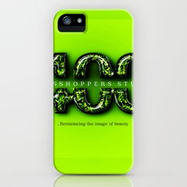 400 Grasshoppers Studio iPhone Case