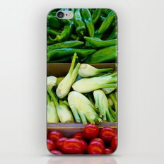 Graphic vegetables iPhone & iPod Skin