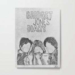 Bridget Jones' Diary Metal Print