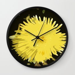Iceplant Abstract Wall Clock