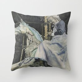 Time Story:  Storyboard VI Throw Pillow