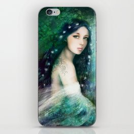 Portrait of a Changeling iPhone Skin