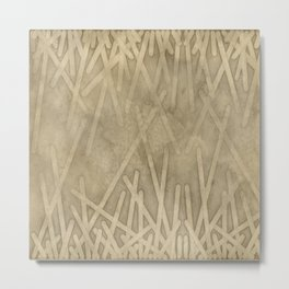 sand geode  - Metal Print
