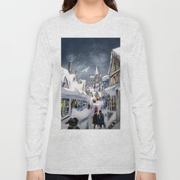 Snowy Hogsmeade Long Sleeve T-shirt
