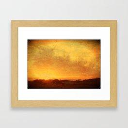 Landscape #5 Framed Art Print