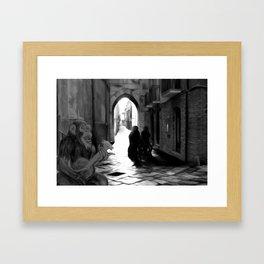 The Octochimp Minstrel Framed Art Print