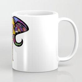 Retrocultural elephant head Coffee Mug