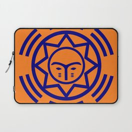 African Shield In Two Colors Laptop Sleeve