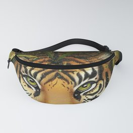 Tiger and Bamboo Fanny Pack