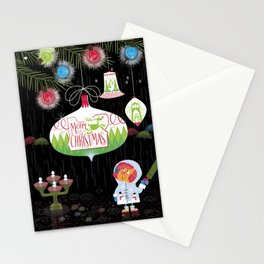 Merry Christmas from Portland, Oregon Stationery Cards