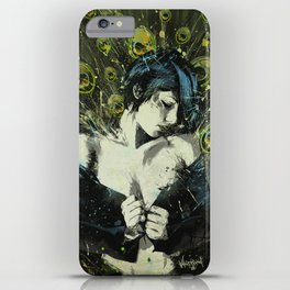 Black Pea iPhone Case