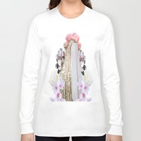 madonna Long Sleeve T-shirts featuring madonna by Mike Fernandez
