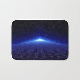 Time Portal In Space Bath Mat