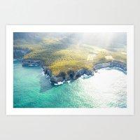 Tasmanian Coastline II Art Print