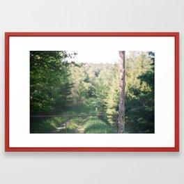 i keep going Framed Art Print