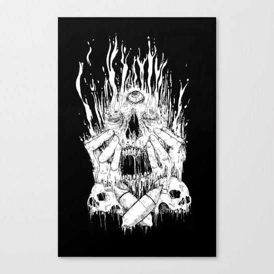 Melt Canvas Print