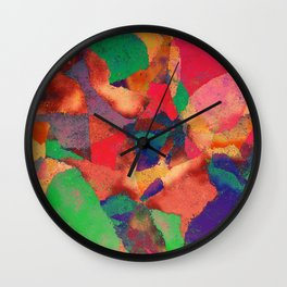 Pattern Number 30 Wall Clock