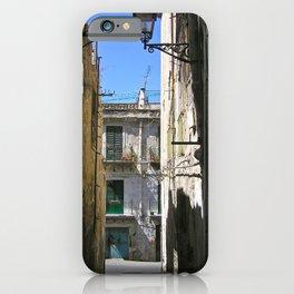 Antique Alley - Palermo - Sicily iPhone Case
