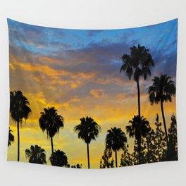 Palm Trees LA Wall Tapestry