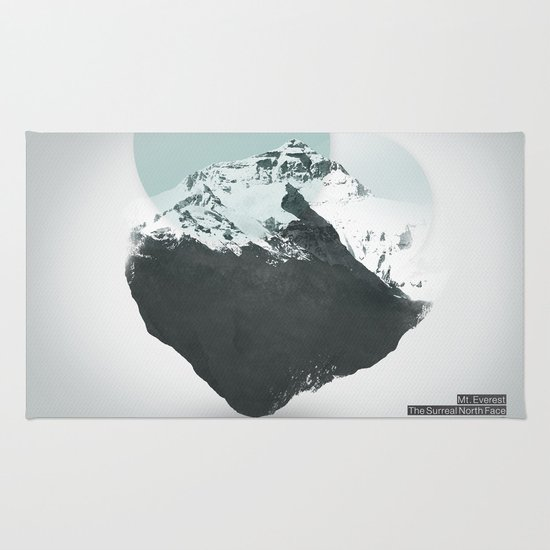 Mt. Everest - The Surreal North Face Rug