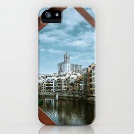 Landscape Girona City iPhone Case