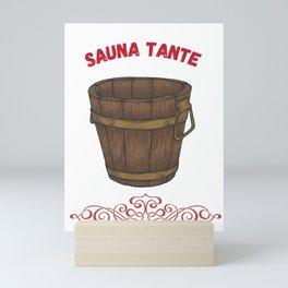 Sauna Aunta Saunas Mini Art Print