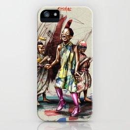 """African+British """"Pancake day"""" iPhone Case"""