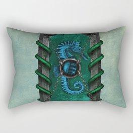 Seahorse shield Rectangular Pillow