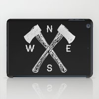 compass iPad Cases featuring Compass 2 by Zach Terrell