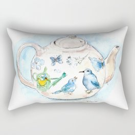 Tea in Wonderland Rectangular Pillow