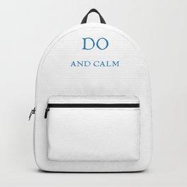Qigong Meditation Taichi Do Qi Gong And Calm Down Backpack
